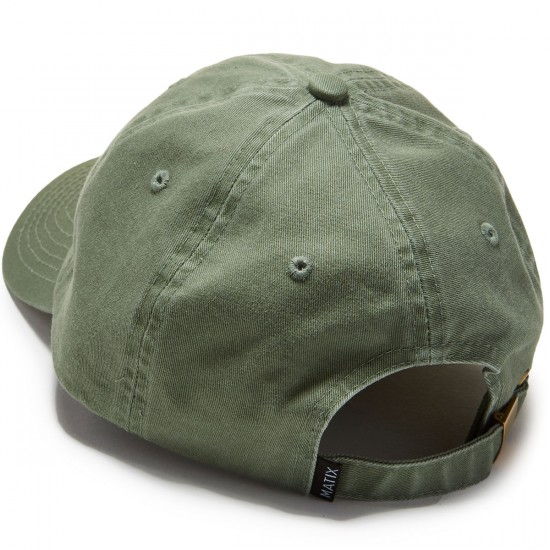 Matix Vacation Polo Hat - Army