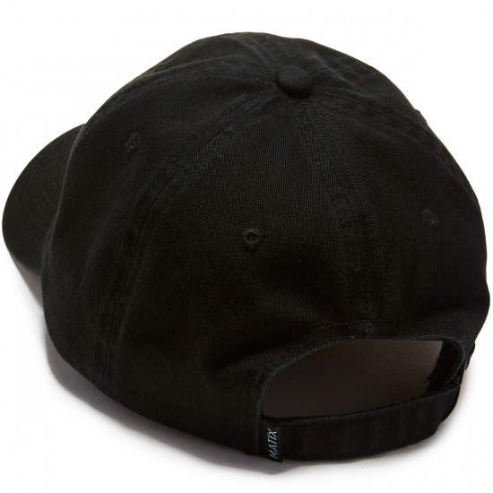 Matix Vacation Polo Hat - Black