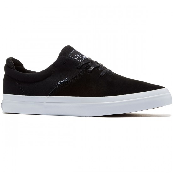 Filament Romar Shoes - Black Suede/Canvas - 8.0