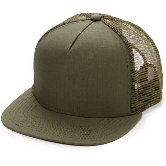 Official Cards Blank Hat - Olive