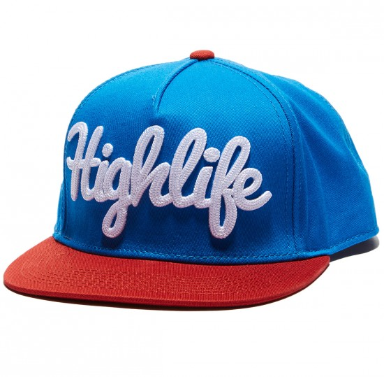 Official Highlift Dull Hat - Blue