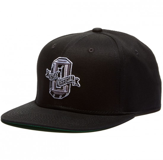 """Official Stay Collegiate """"O"""" Hat - Black"""