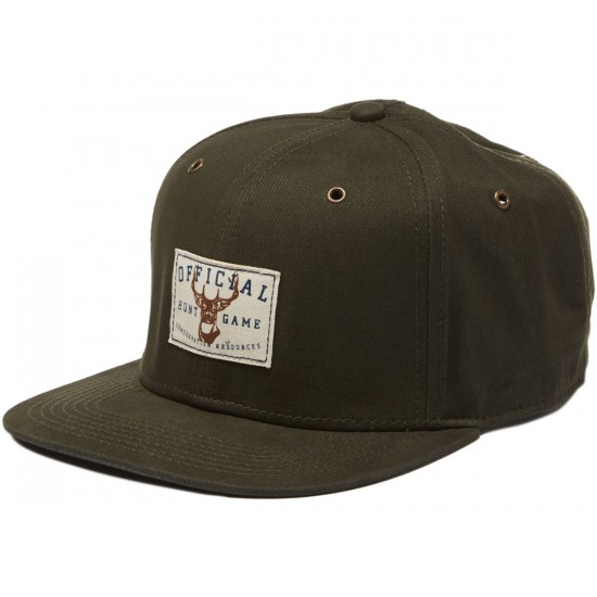 Official Hunt Game Hat - Olive