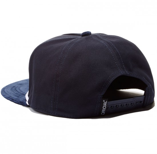 Official X Habitat Cord Hat - Blue