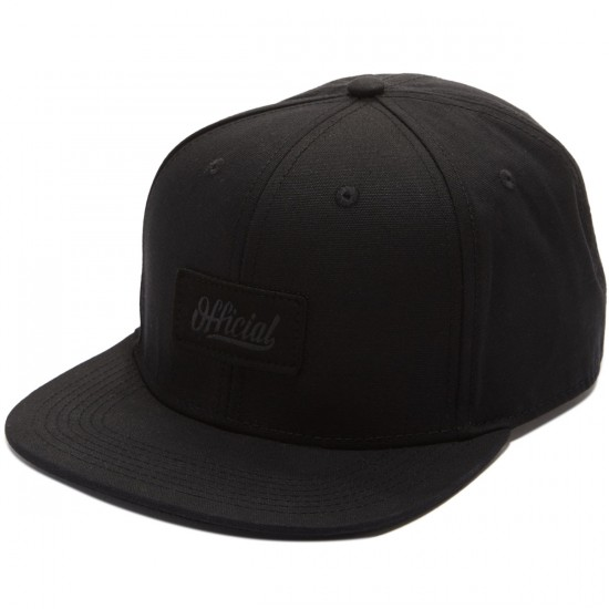Official Back In Black Jamie Thomas Hat - Black