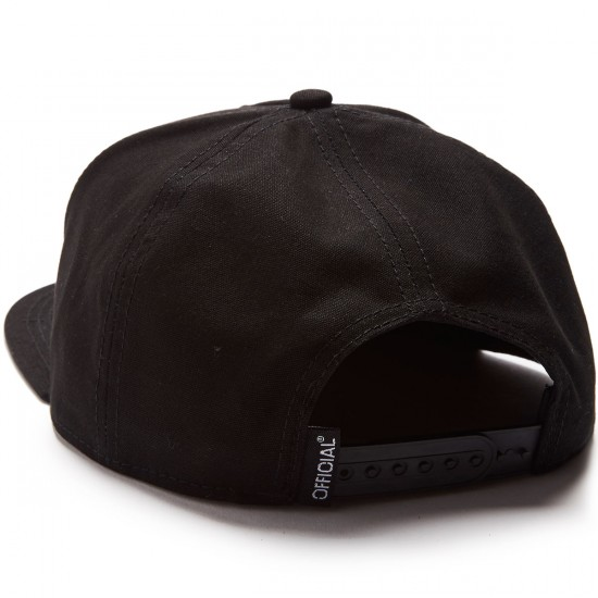 Official Cali Bear Patch Hat - All Black