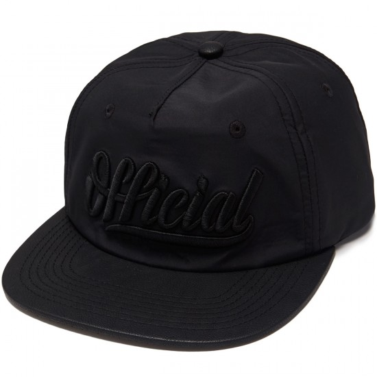Official Marquise Zip Hat - Black