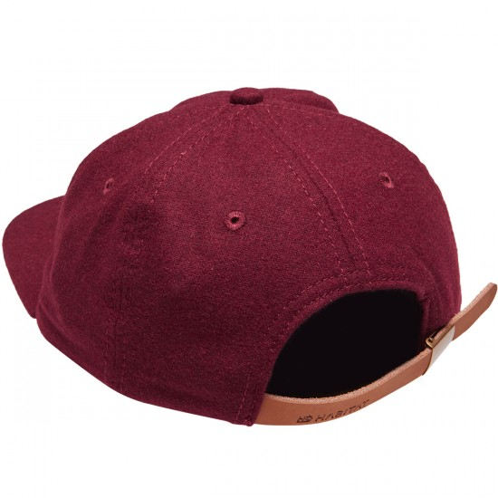 Habitat X Twin Peaks R and R Coffee Felt Hat - Red