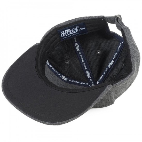 Official Chamonix Hat - Charcoal
