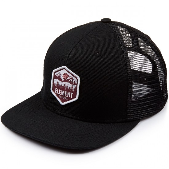 Element Skateboards Sun Down Hat - Flint Black