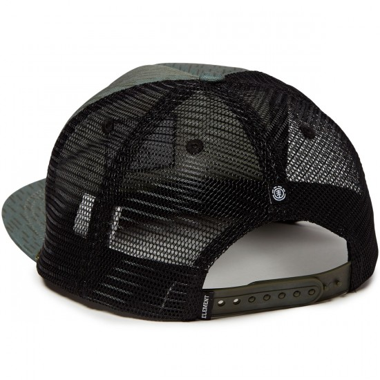 Element Legion Trucker Hat - Rain Camo