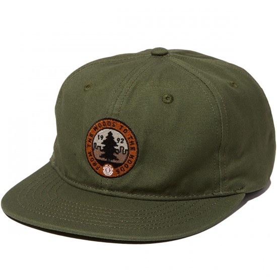 Element Woodhood Hat - Moss Green