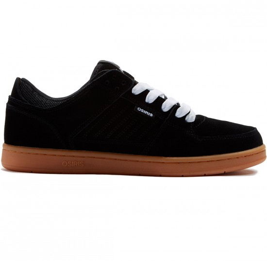 Osiris Protocol SLK Shoes - Black/Gum - 8.0