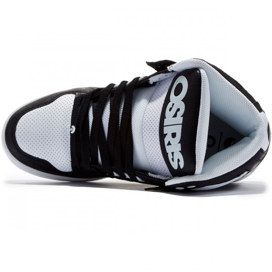 Osiris NYC 83 Shoes - Black/Black/White - 8.0