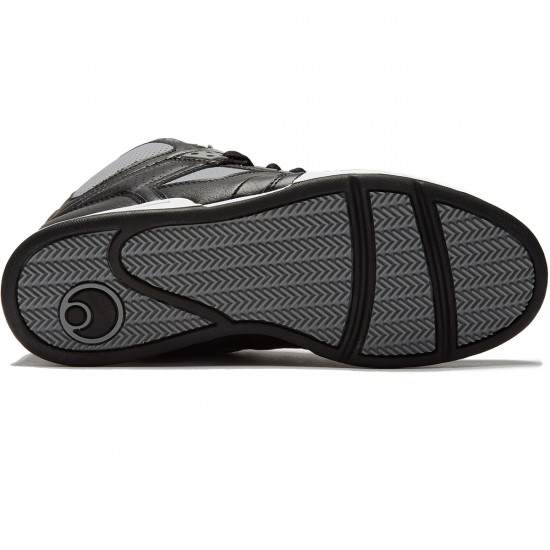 Osiris NYC 83 Shoes - Black/Grey - 8.0