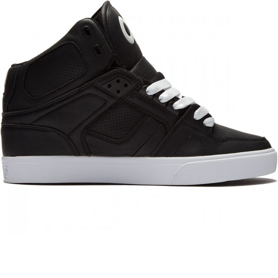 Osiris NYC 83 Vulc Shoes - Black/White/White - 8.0