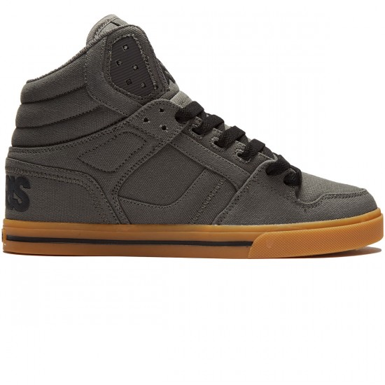 Osiris Clone Shoes - Charcoal/Gum - 8.0