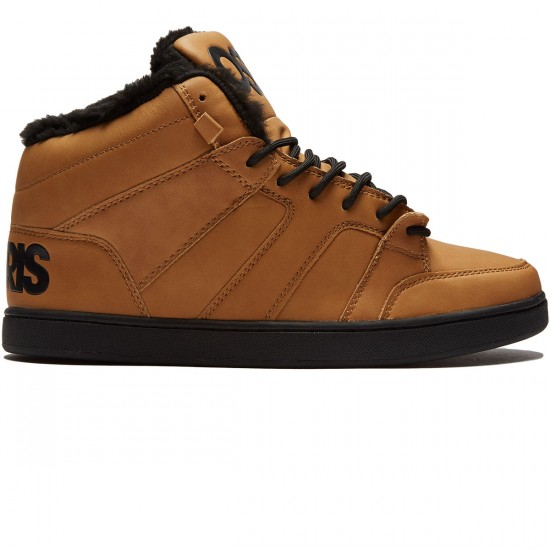 Osiris Convoy Mid Shoes - Brown/Work - 8.0