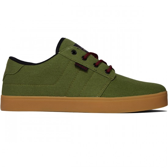 Osiris Mesa Shoes - Green/Black/Gum - 8.0