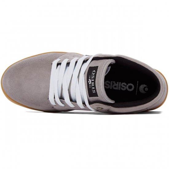 Osiris Helix Shoes - Charcoal/Charcoal/Silver - 8.0