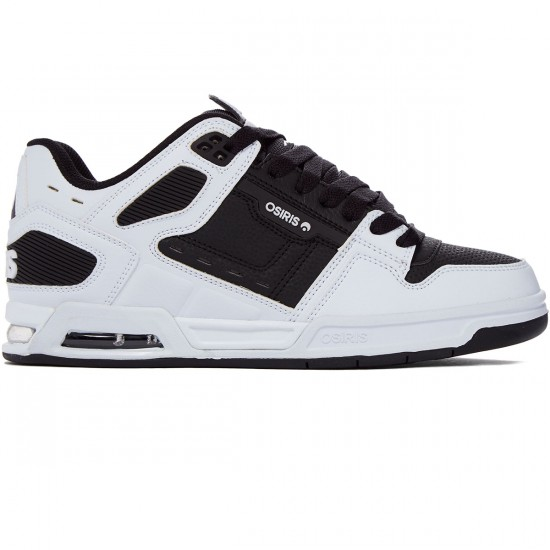 Osiris Peril Shoes - White/Black/White - 8.0