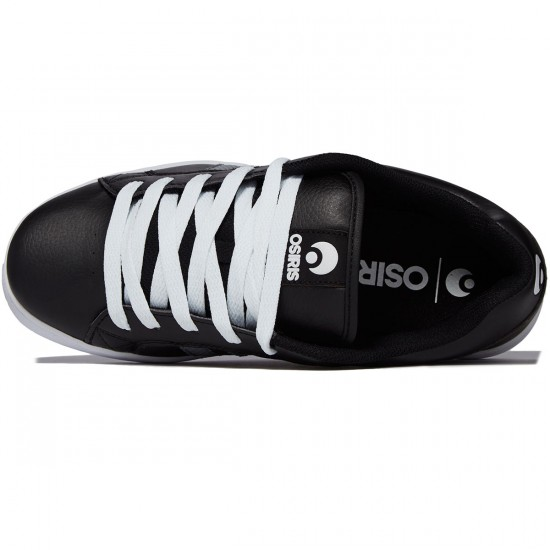 Osiris Loot Shoes - Black/Grey/White - 8.0