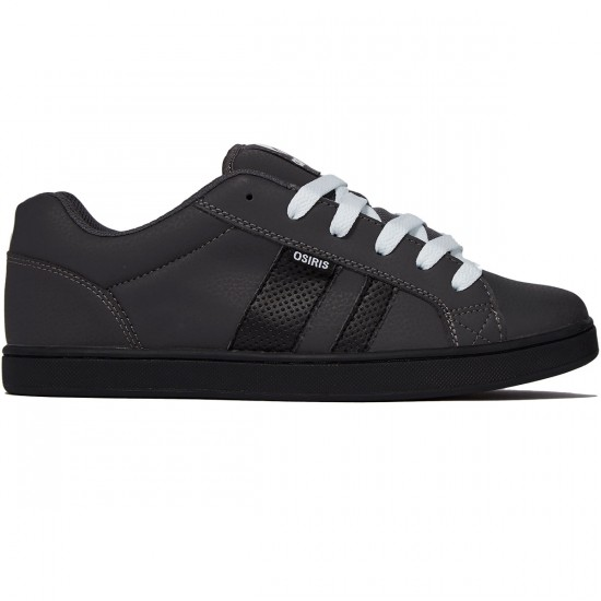 Osiris Loot Shoes - Dark Grey/Black/White - 8.0
