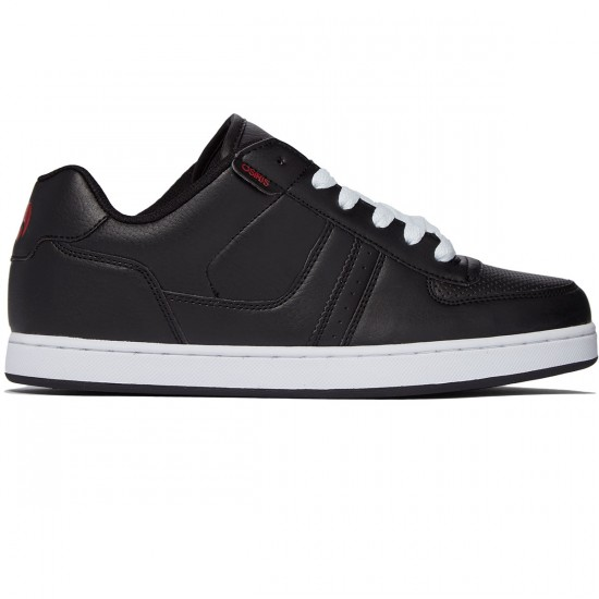 Osiris Relic Shoes - Black/Charcoal/Red - 8.0