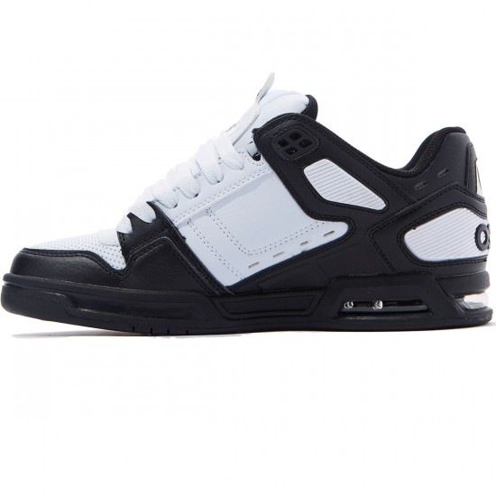 Osiris Peril Shoes - Black/White/Black - 8.0