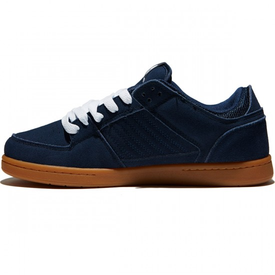 Osiris Protocol SLK Shoes - Navy/Gum - 8.0