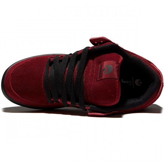 Osiris Protocol SLK Shoes - Oxblood/Black/Duffel - 8.0