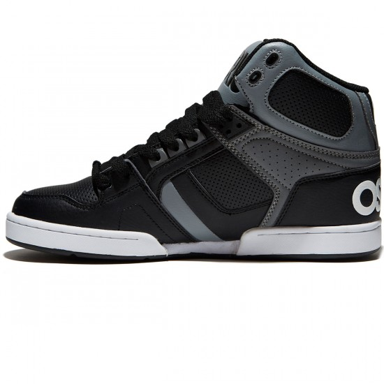 Osiris NYC 83 Shoes - Black/Grey/Grey - 8.0