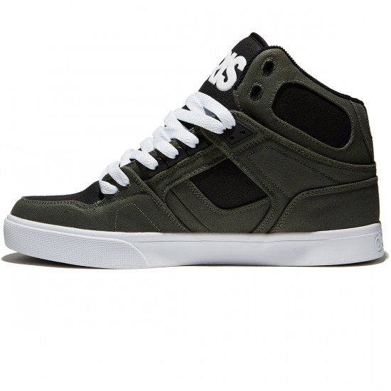 Osiris NYC 83 Vulc Shoes - Dark Green/Black - 8.0