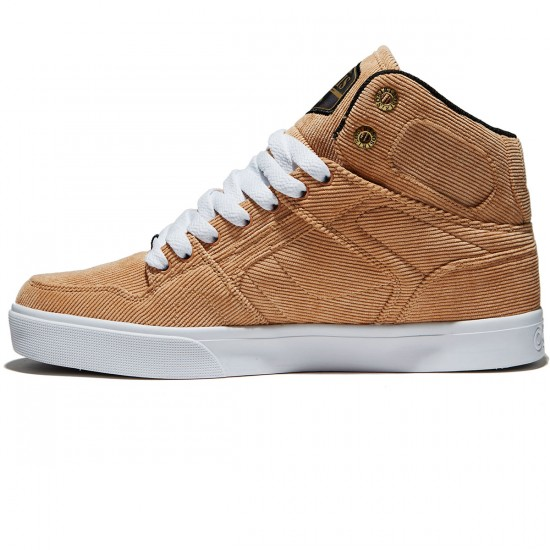 Osiris NYC 83 VLC DCN Shoes - Tan/White