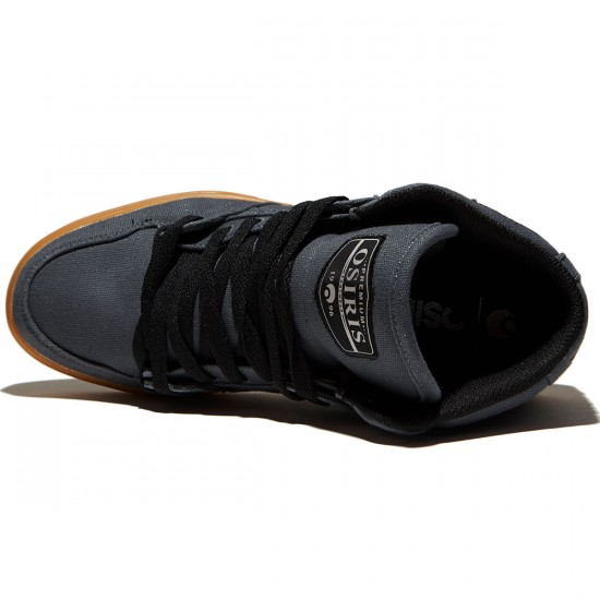 Osiris NYC 83 VLC DCN Shoes - Charcoal/Gum - 8.0