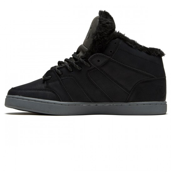 Osiris Convoy Mid Shoes - Black/Charcoal/Work - 8.5