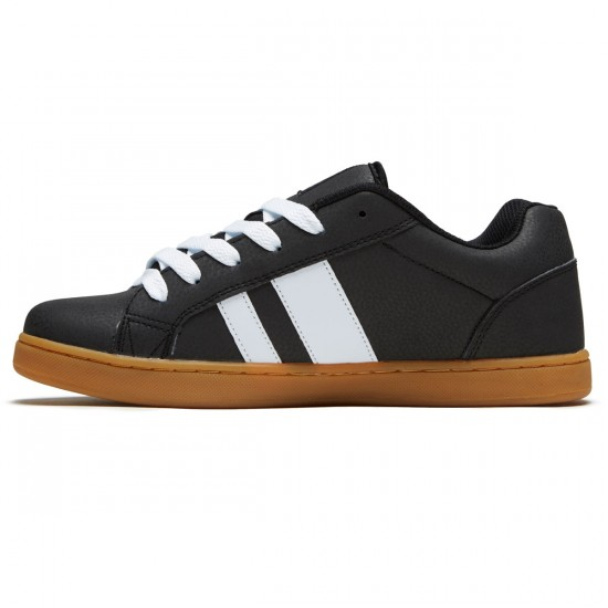 Osiris Loot Shoes - Black/Gum/White - 8.5