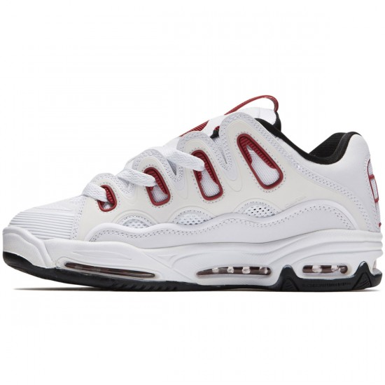 Osiris D3 2001 Shoes - White/Red/Black
