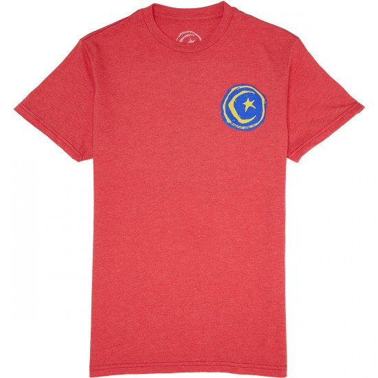 Foundation Tak A Knee T-Shirt - Red