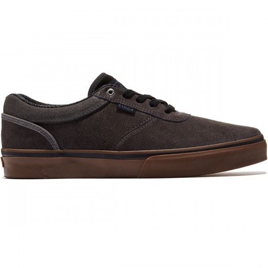 C1rca Gravette Shoes - Gunmetal/Gum - 8.0