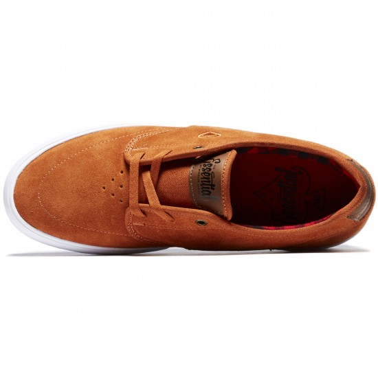 C1rca Essential Shoes - Rust/Bison - 8.0