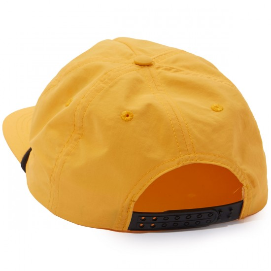 Captain Fin Shark Fin 5 Panel Hat - Burnt Orange