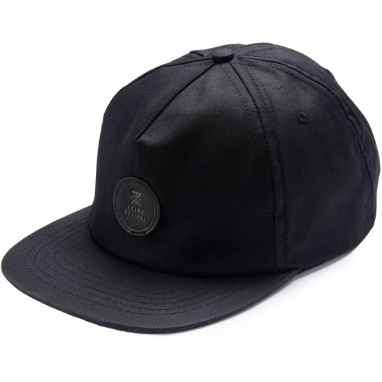Roark Hard Ball Hat - Black