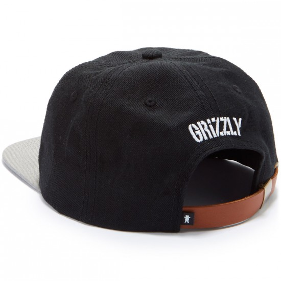 Grizzly KeyStone Strapback Hat - Black