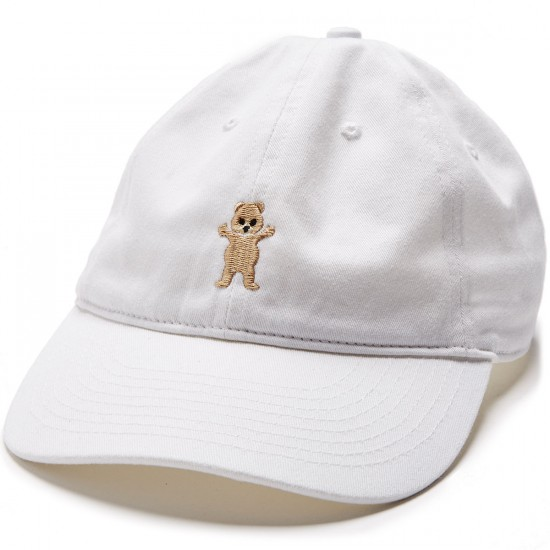Grizzly Pudwill Pro Dad Hat - White