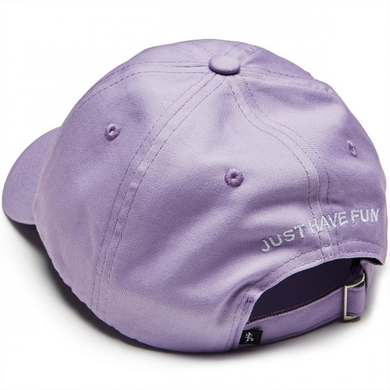 Just Have Fun Classic Skate Dad Hat - Lavender