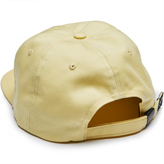 Just Have Fun All Is One Strapback Hat - Yellow