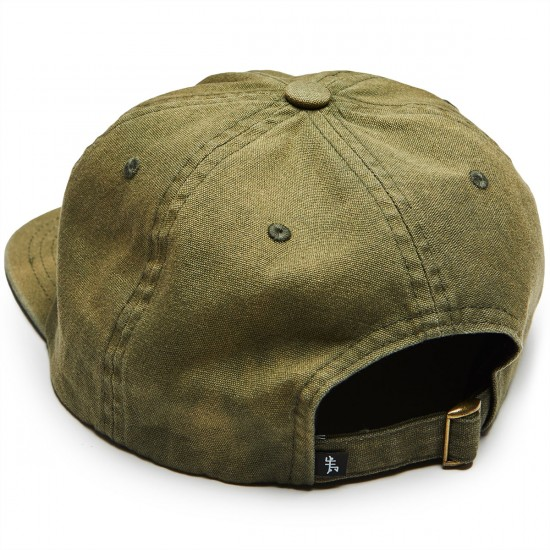 Just Have Fun Faded Self Strap Back Hat - Olive
