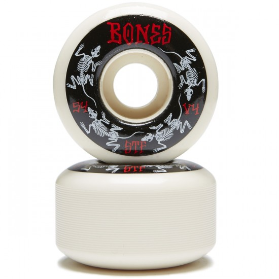 Bones STF V4 Series 2017 Skateboard Wheels - 54mm