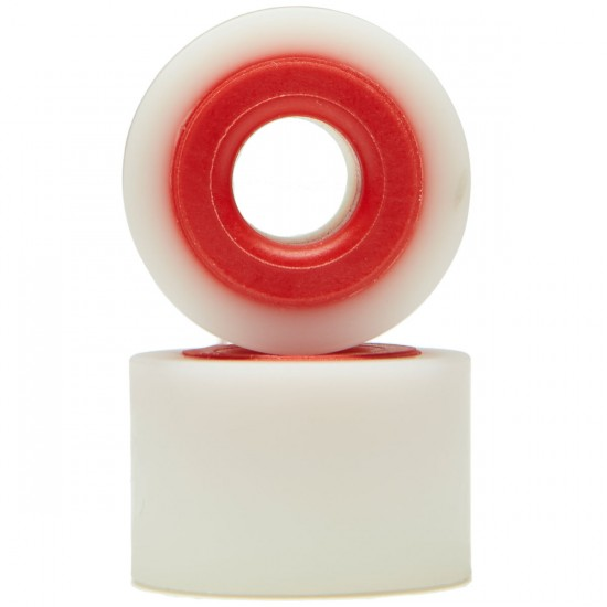 Hardcore Barrel Bushings - White/Red - 88a